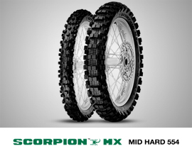 SCORPION MX MID HARD 554