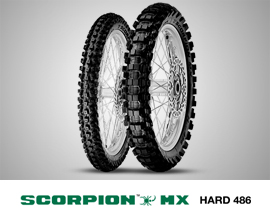 SCORPION MX HARD 486
